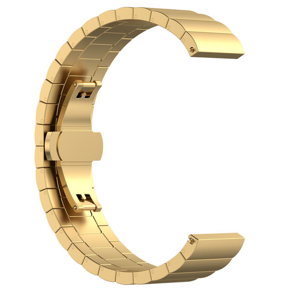 123Watches Huawei watch GT steel link band - gold