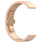 123Watches Bracelet lien en acier Huawei watch GT - or rose