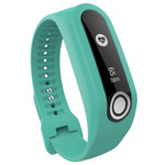 123Watches TomTom Touch silicone belt buckle band - teal