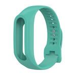 123Watches Bracelet en boucle en silicone TomTom Touch - vert bleu