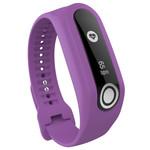 123Watches Bracelet en boucle en silicone TomTom Touch - violet