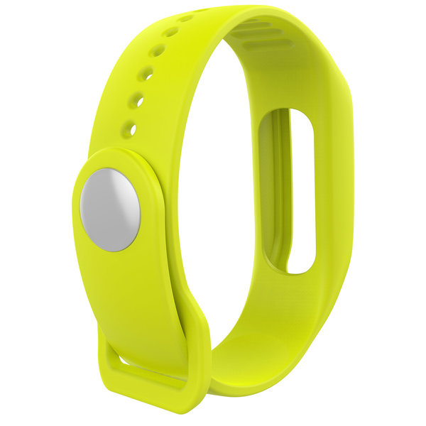 123Watches TomTom Touch silicone gesp band - geel