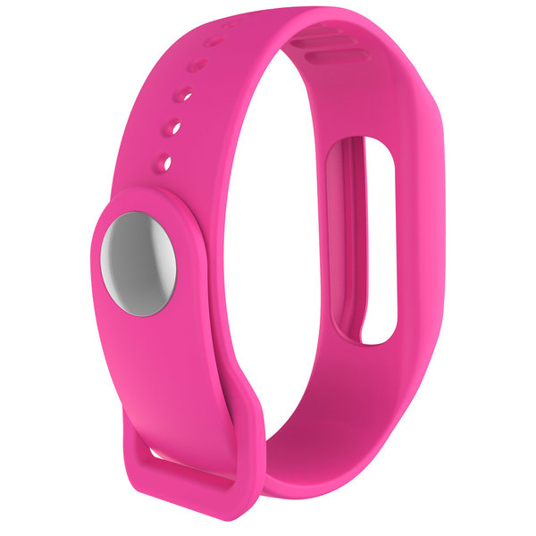 123Watches TomTom Touch silicone gesp band - roze