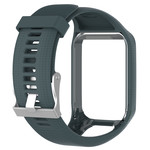 123Watches TomTom Runner / Spark / Adventure Silicone buckle strap - slate