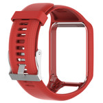 123Watches Bracelet en silicone TomTom Runner / Spark / Adventure - rouge