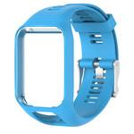 123Watches Bracelet en silicone TomTom Runner / Spark / Adventure - bleu