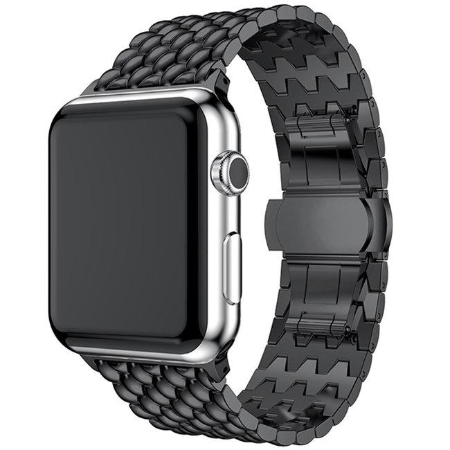 Apple watch dragon steel link - black