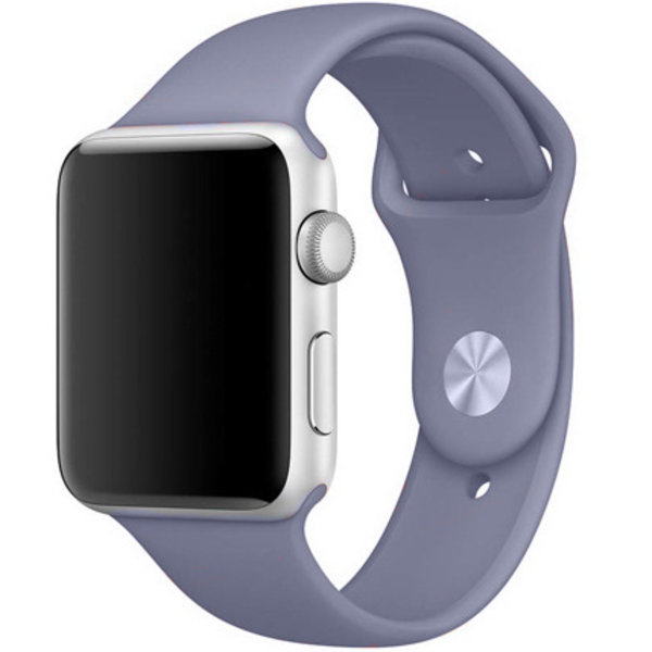123Watches Apple watch sport band - lavender gray