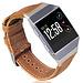 123Watches Fitbit Ionic genuine leren band - lichtbruin