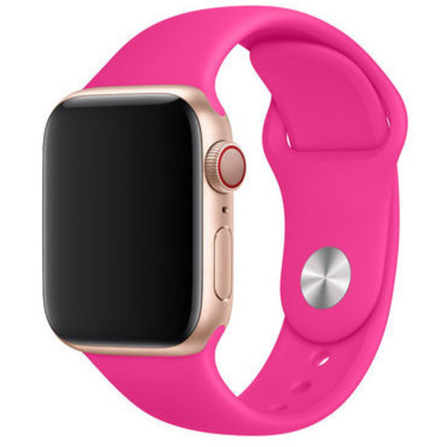 Apple watch sport band - hot pink