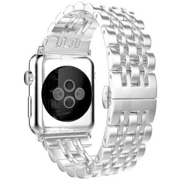 123Watches Apple watch rvs schakel band - zilver