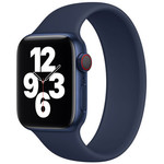 123Watches Apple watch sport solo loop band - blauw