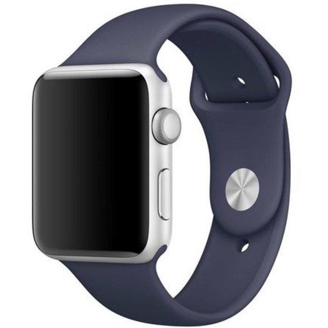 Merk 123watches Apple watch sport band - midnight