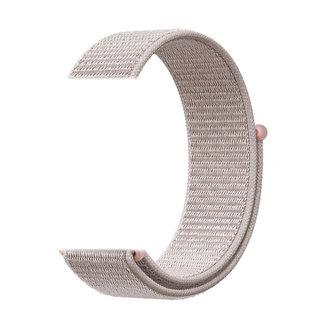 Merk 123watches Garmin Vivoactive / Vivomove nylon sport band - rose roze