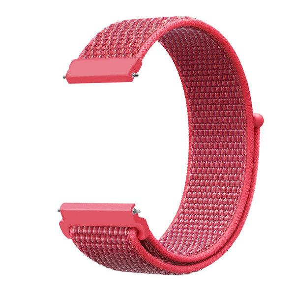 123Watches Bracelet Sport en Nylon pour Garmin Vivoactive / Vivomove - hibiscus