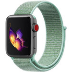 123Watches Apple watch nylon sport loop band - green