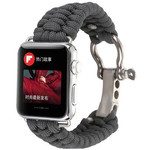 123Watches Apple watch nylon rope band - grijs