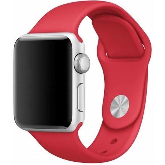 Merk 123watches Apple watch sport band - red