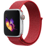123Watches Apple watch nylon sport loop band - red