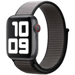 123Watches Apple watch nylon sport loop band - anker grijs