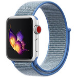 123Watches Apple watch nylon sport loop band - blue