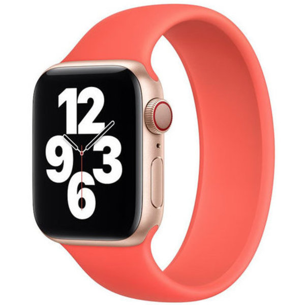 123Watches Apple watch sport solo loop band - oranje