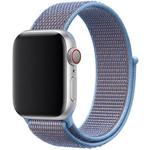 123Watches Apple watch nylon sport loop band - cerulean