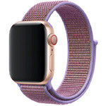 123Watches Apple watch nylon sport loop band - lila