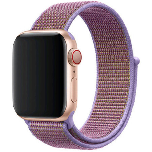 123Watches Apple watch nylon sport loop band - lilas