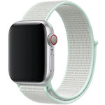 123Watches Apple watch nylon sport loop band - teal tint