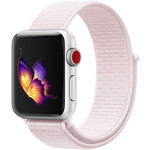 123Watches Apple watch nylon sport loop band - pink