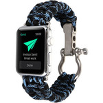 123Watches Apple watch nylon rope band - camouflage bleu