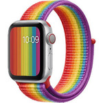 123Watches Apple watch nylon sport loop band - colorful
