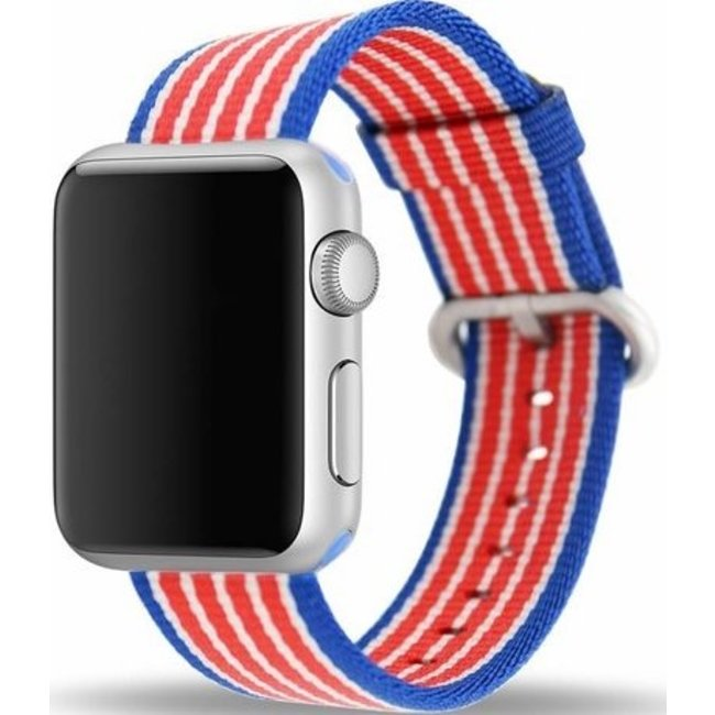 Apple watch nylon buckle band - american