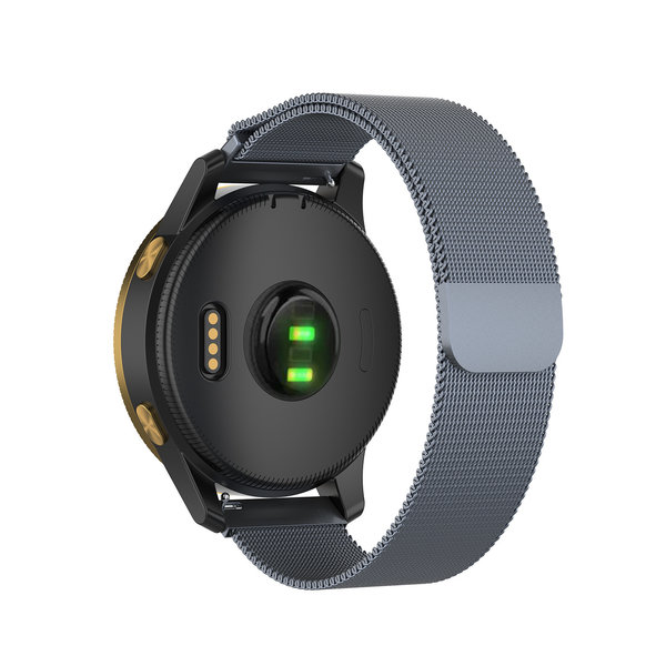 123Watches Polar Ignite milanese band - space gray