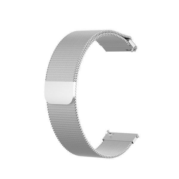 123Watches Polar Vantage M / Grit X milanese band - zilver