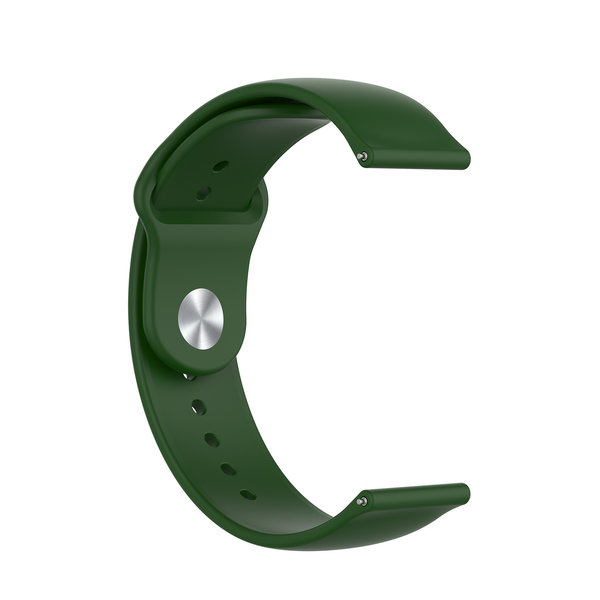 123Watches Polar Ignite silicone band - army green