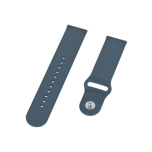 123Watches Bracelet en silicone Polar Vantage M / Grit X - ardoise