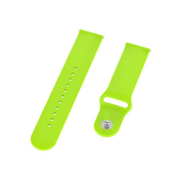 123Watches Polar Ignite silicone band - lime