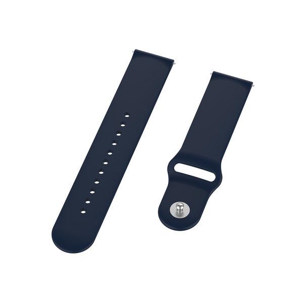 123Watches Polar Vantage M / Grit X silicone band - marineblauw