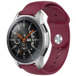 123Watches Polar Ignite silicone band - wine red