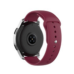 123Watches Polar Ignite silicone band - wijn rood