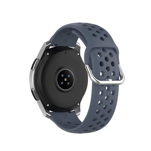 123Watches Bracelet en boucle en silicone Polar Ignite - gris