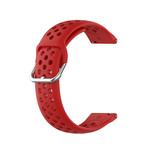 123Watches Polar Vantage M / Grit X Silicone double buckle strap - red