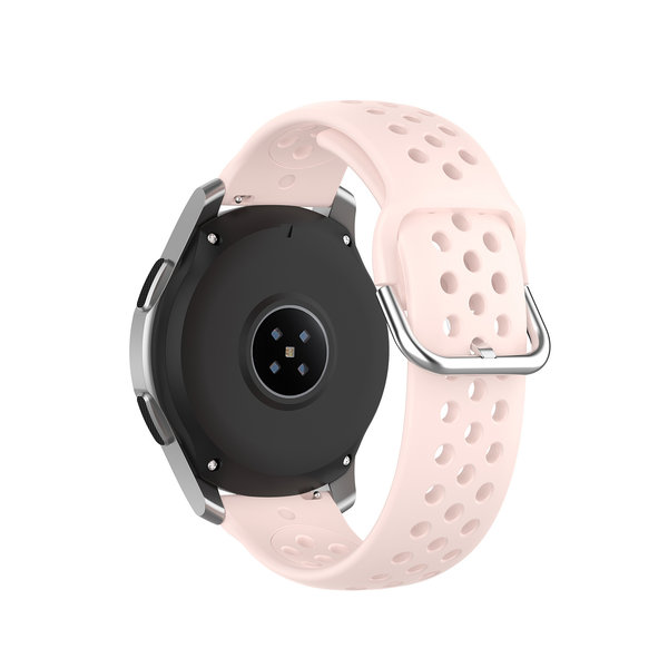 123Watches Bracelet en boucle en silicone Polar Ignite - rose