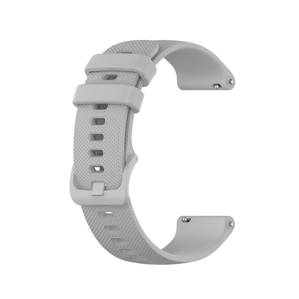 123Watches Polar Ignite silicone belt buckle band - gray