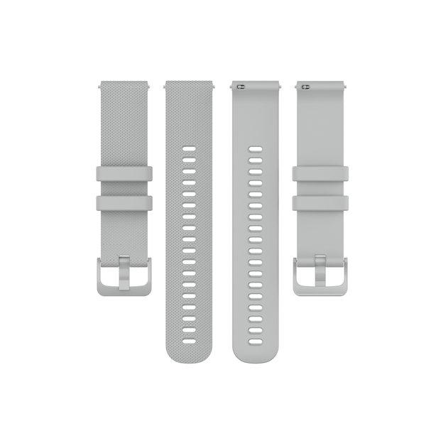 123Watches Polar Vantage M / Grit X silicone gesp band - grijs
