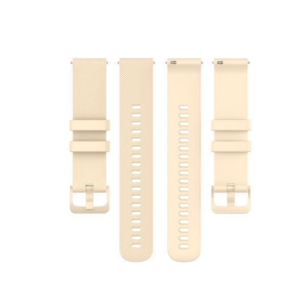 123Watches Polar Ignite silicone gesp band - khaki