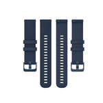 123Watches Polar Vantage M / Grit X silicone gesp band - marineblauw