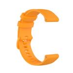 123Watches Bracelet en boucle en silicone Polar Ignite - orange
